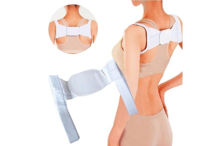 Rückenhalter – weiß