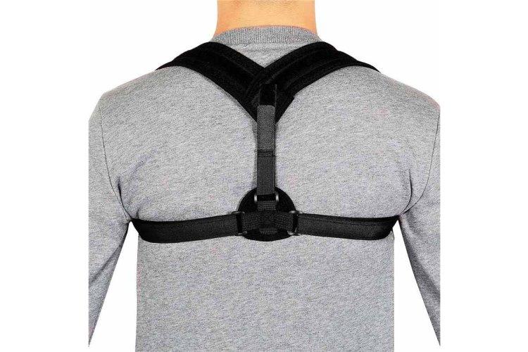 Rückenhalter – schwarz